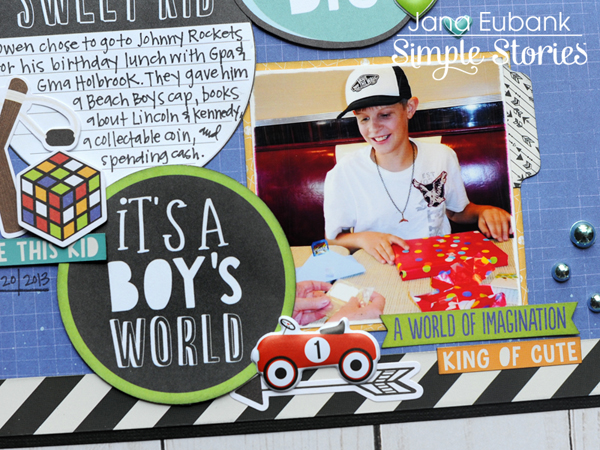 Jana Eubank Simple Stories Lil Dude Boys Rule Layout 6 600