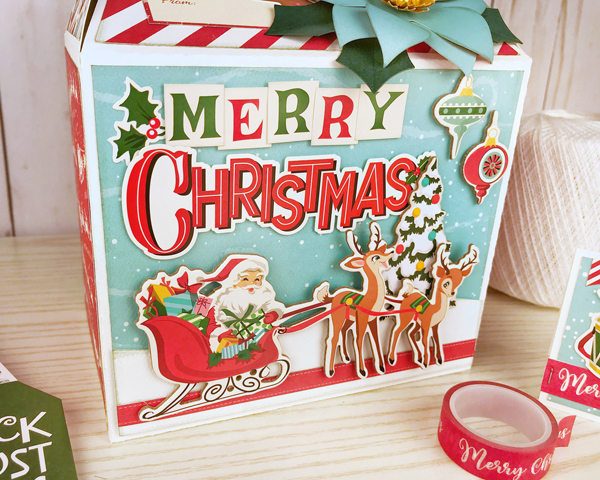 Jana Eubank Carta Bella Santas Workshop Gable Box 6 600