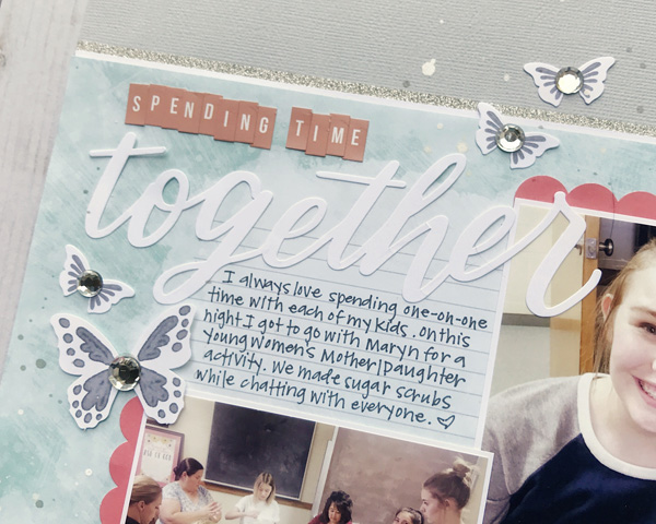 Jana Eubank Close to My Heart Craft with Heart September 2018 Together Layout 2 600