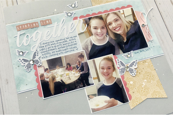 Jana Eubank Close to My Heart Craft with Heart September 2018 Together Layout 5 600