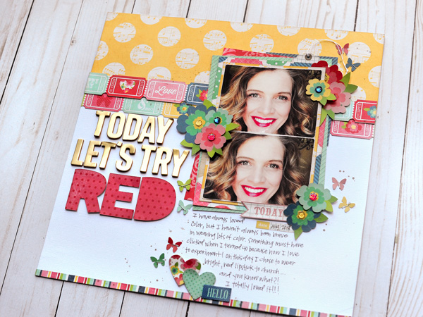 Jana Eubank Scrapbooking Store Try Red Layout 5 600