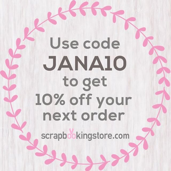 Jana Eubank ScrapbookingStore Coupon