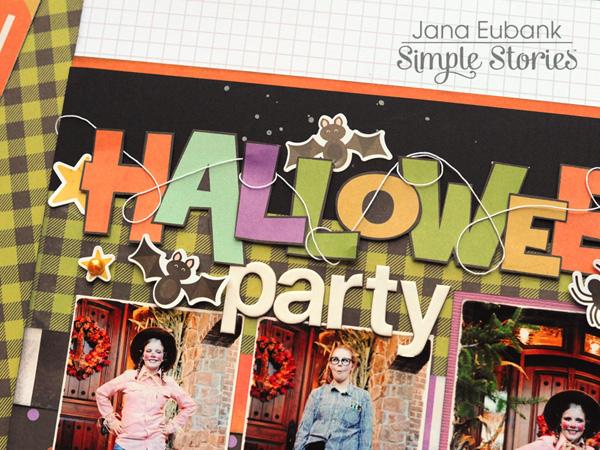 Jana Eubank Simple Stories Happy Halloween Party Layout 2 600
