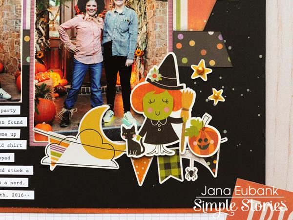 Jana Eubank Simple Stories Happy Halloween Party Layout 4 600