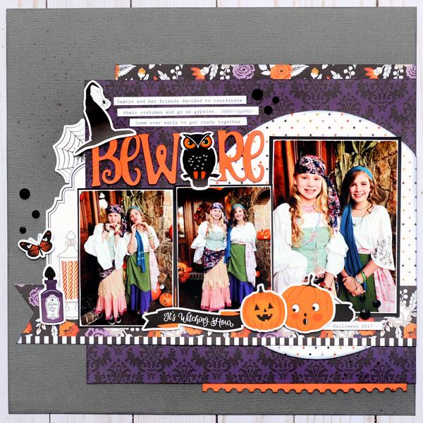 Jana Eubank Echo Park Paper Bewitched Beware Layout 1 600