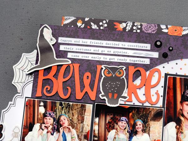 Jana Eubank Echo Park Paper Bewitched Beware Layout 2 600