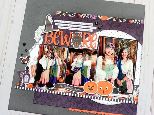 Jana Eubank Echo Park Paper Bewitched Beware Layout 5 600