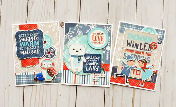 Jana Eubank Echo Park Paper Celebrate Winter Card Trio 1 600