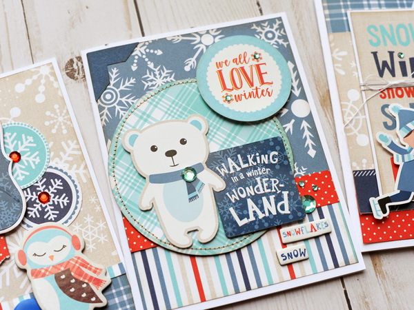 Jana Eubank Echo Park Paper Celebrate Winter Card Trio 3 600