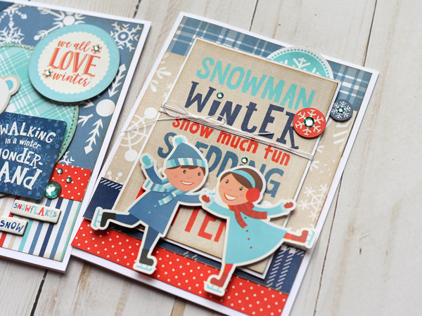Jana Eubank Echo Park Paper Celebrate Winter Card Trio 4 600