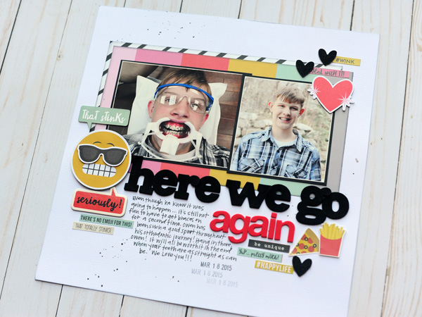 Jana Eubank Simple Stories Emoji Love Here We Go Again Layout 5 600