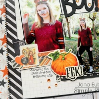 Simple Stories: BOO to You! Layout