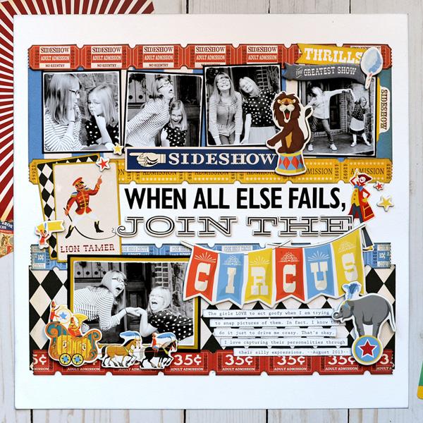 Jana Eubank Carta Bella Paper Circus Join the Circus Layout 1 600