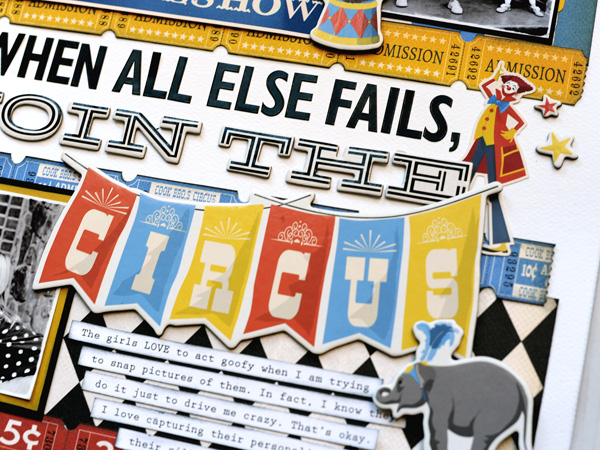 Jana Eubank Carta Bella Paper Circus Join the Circus Layout 4 600