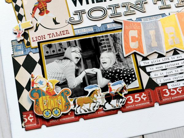 Jana Eubank Carta Bella Paper Circus Join the Circus Layout 5 600