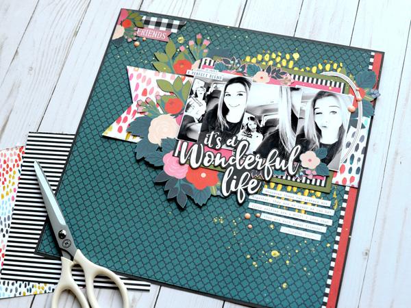 Jana Eubank Echo Park Paper Coffee Wonderful Life Layout 6 600