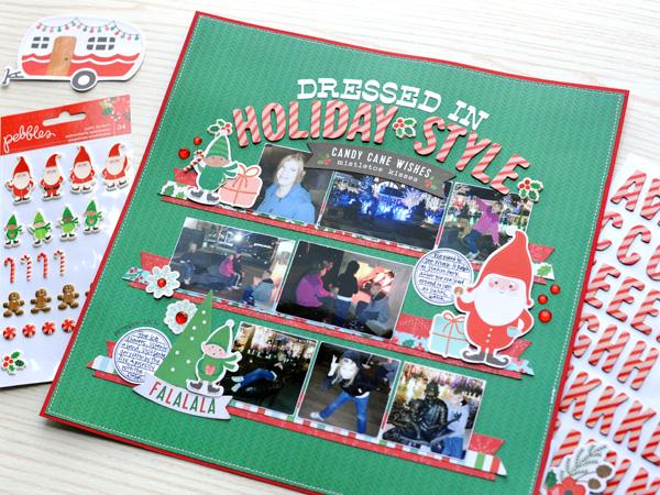 Jana Eubank Pebbles Cozy Bright Holiday Style Layout 6 600