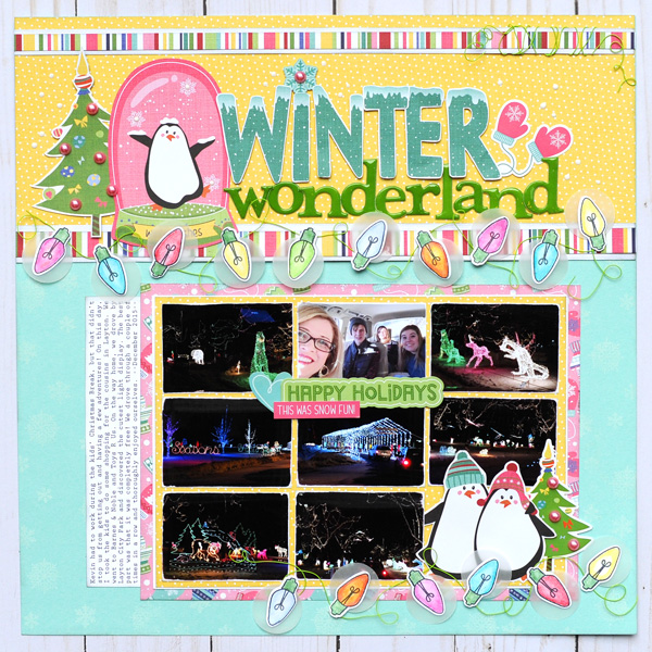 Jana Eubank Photoplay Paper Frosty Friends Winter Wonderland 1 600