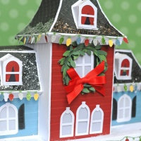 SVG Cuts: Maple Manor as a Christmas House!