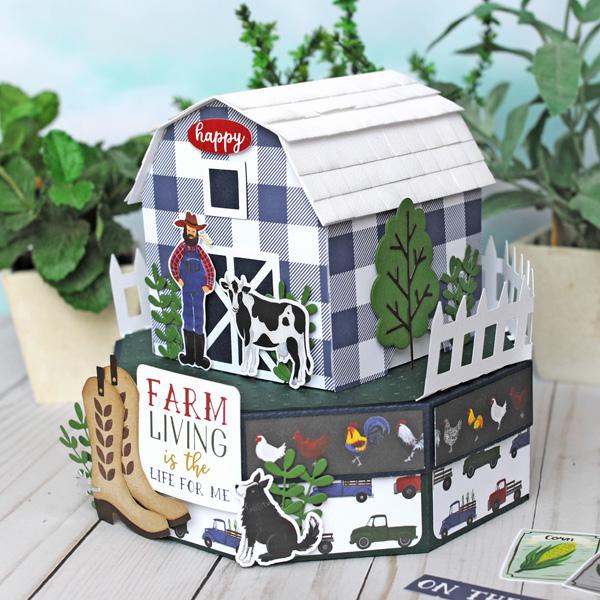Jana Eubank Echo Park Paper Down On the Farm Barn Box 4 600