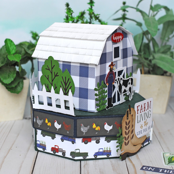Jana Eubank Echo Park Paper Down On the Farm Barn Box 6 600