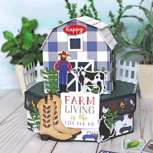 Jana Eubank Echo Park Paper Down On the Farm Barn Box 7 600