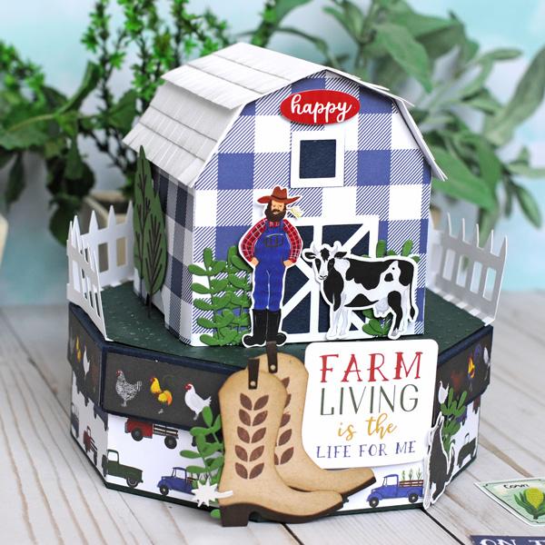 Jana Eubank Echo Park Paper Down On the Farm Barn Box 8 600