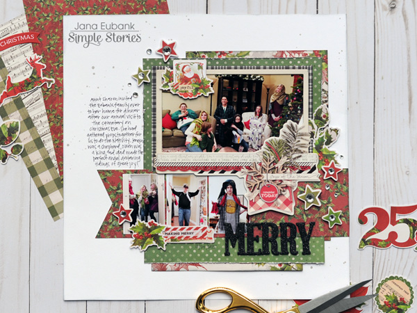 Jana Eubank Simple Stories Simple Vintage Christmas Merry Layout 1b 600