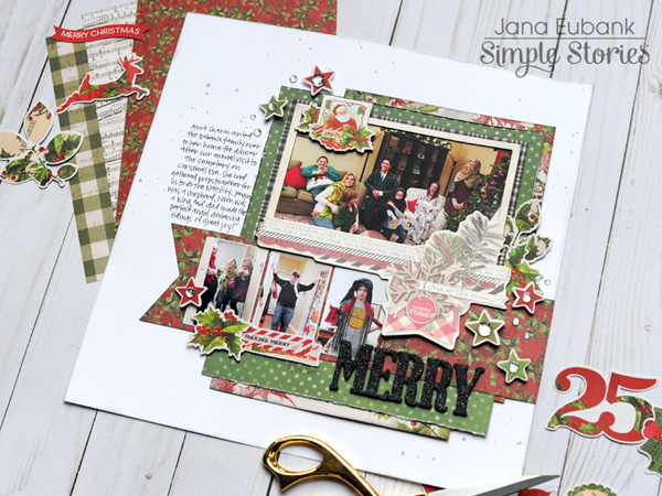 Jana Eubank Simple Stories Simple Vintage Christmas Merry Layout 5 600