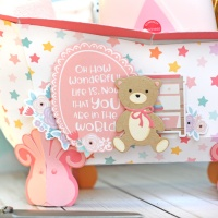 Echo Park Paper: Baby Girl Bathtub Gift Set