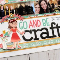 Echo Park Paper: Go and Be Crafty