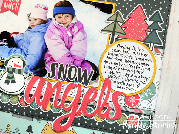 jana eubank simple stories freezin season snow angels layout 4 600