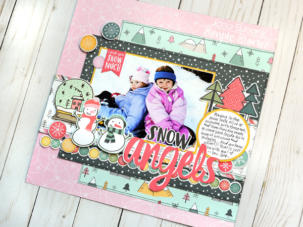 jana eubank simple stories freezin season snow angels layout 5 600