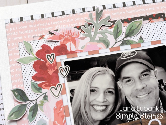 Jana Eubank Simple Stories Kissing Booth Love Scrapbook Page 2 800