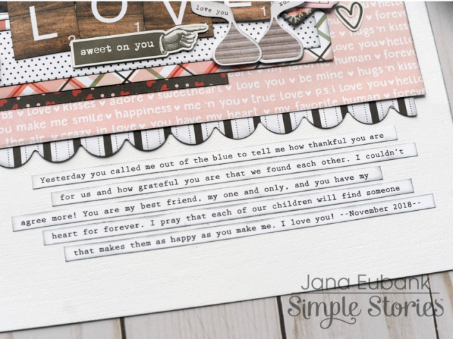 Jana Eubank Simple Stories Kissing Booth Love Scrapbook Page 4 800