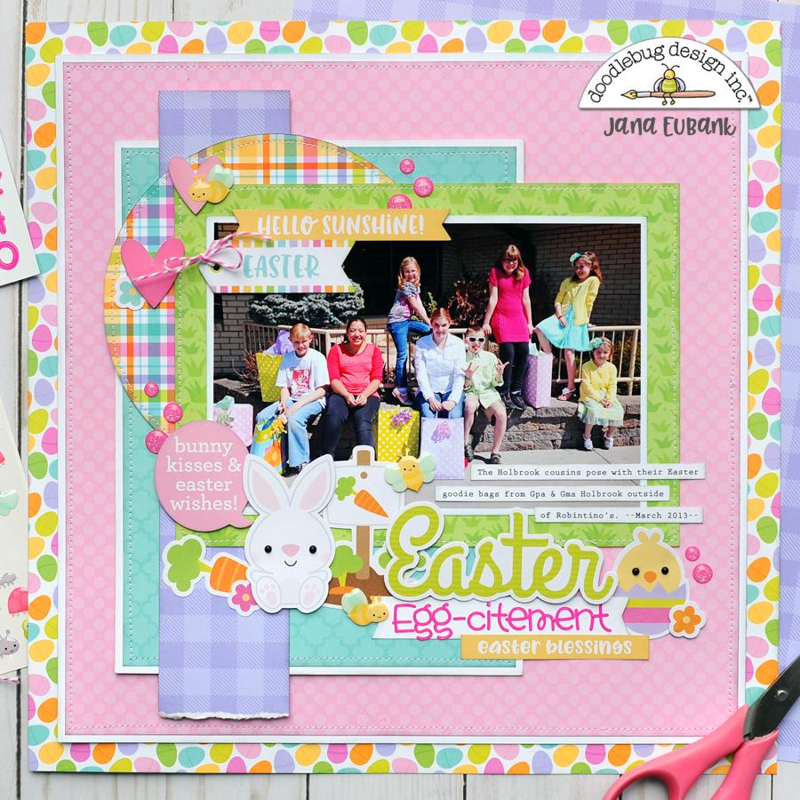 Jana Eubank Doodlebug Hoppy Easter Easter Eggcitement 1B 900