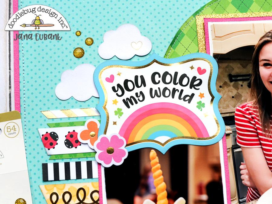 Jana Eubank Doodlebug Lots O Luck Unicorn Cake 3 900