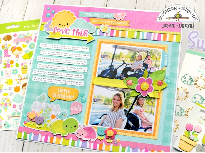 Jana Eubank Doodlebug Simply Spring Love This 5 900