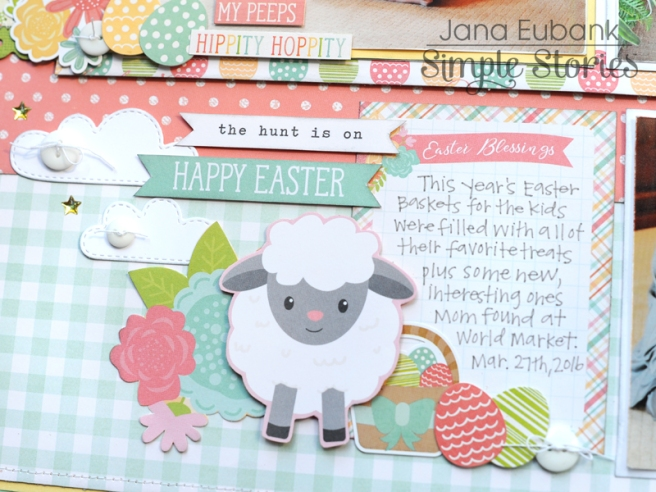Jana Eubank Simple Stories Bunnies and Baskets Hoppy Easter Layout 5 800