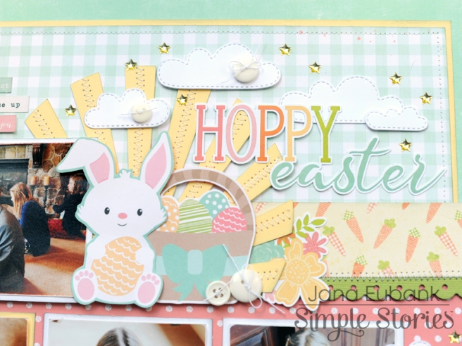 Jana Eubank Simple Stories Bunnies and Baskets Hoppy Easter Layout 6 800