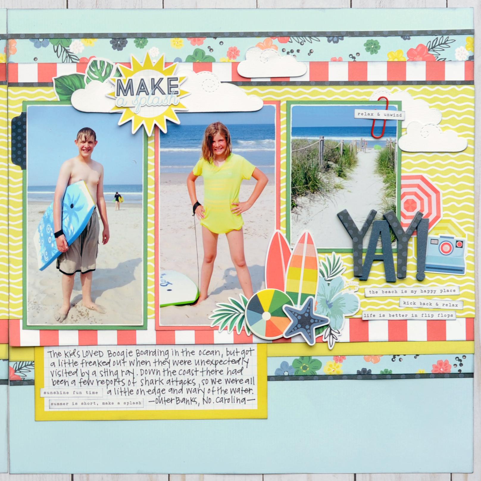 Jana Eubank Simple Stories Smile 3 Original Right
