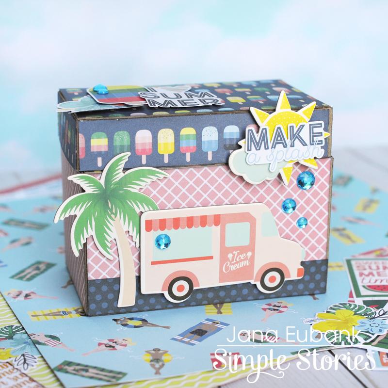 Simple Stories Sunshine and Blue Skies Treasure Box 1 800