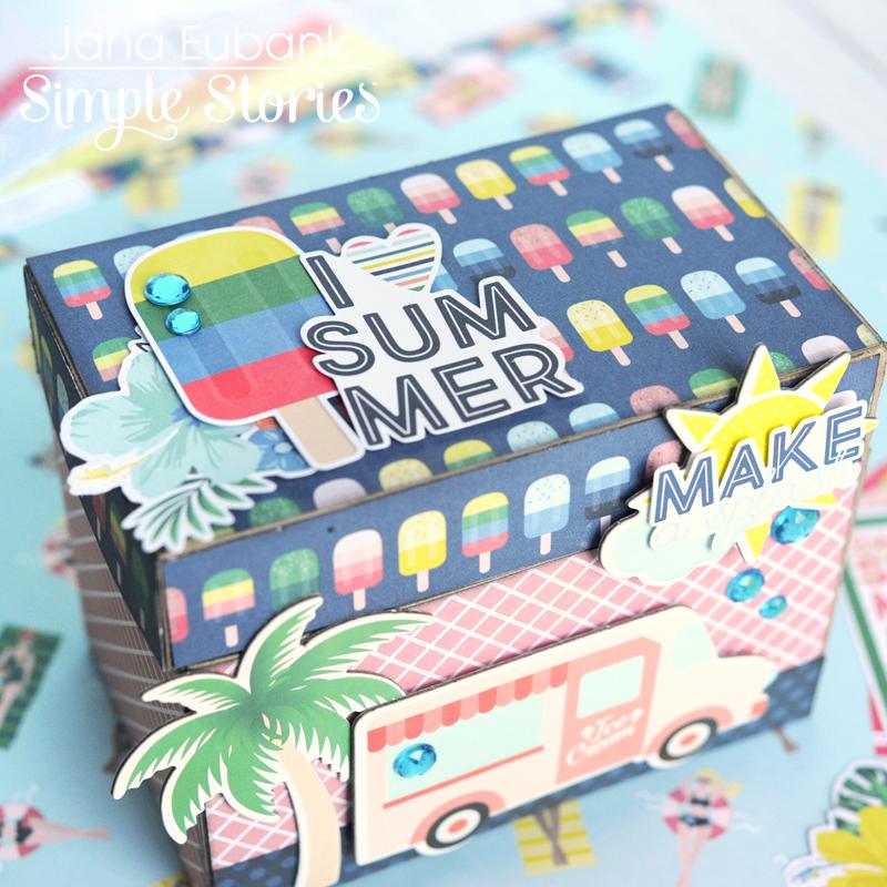 Simple Stories Sunshine and Blue Skies Treasure Box 2 800