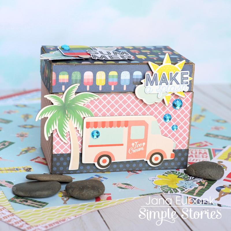 Simple Stories Sunshine and Blue Skies Treasure Box 4 800