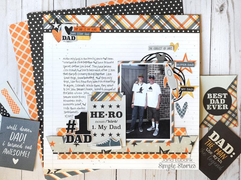 Jana Eubank Simple Stories Dad Life 1 800