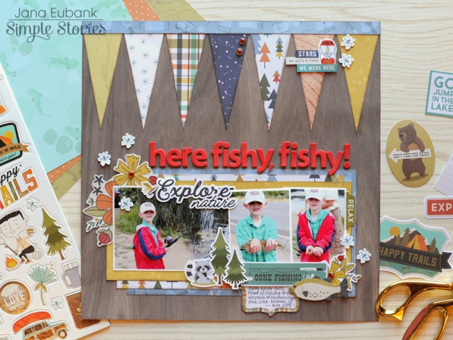 Jana Eubank Simple Stories Happy Trails Here Fishy Layout 1 800
