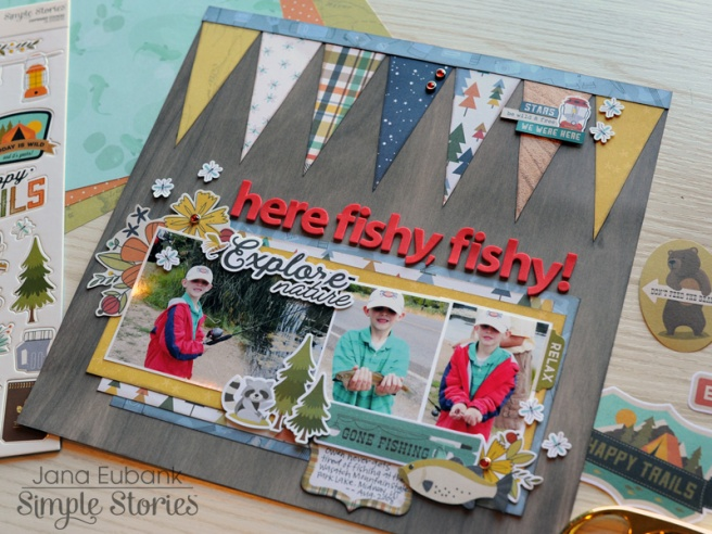 Jana Eubank Simple Stories Happy Trails Here Fishy Layout 6 800