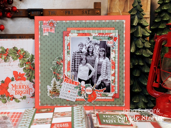 Jana Eubank Simple Stories Country Christmas Layout 1 800