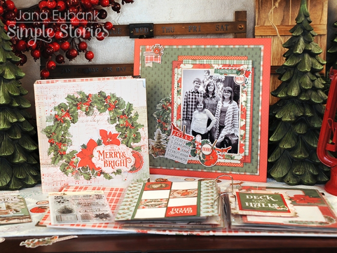 Jana Eubank Simple Stories Country Christmas Layout 3 800