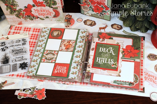 Jana Eubank Simple Stories Country Christmas Layout 4 800
